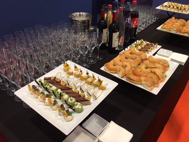Buffet du Cocktail au Salon de la copropriété
